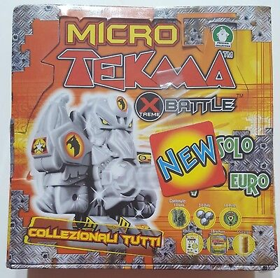 Micro Tekma Xtreme Battle The Warmonger's Saga Set Blisterato 18 Bustine