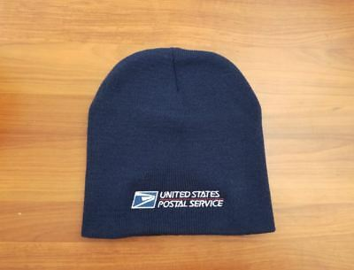 USPS Postal Navy Blue Beanie Cap Postal Logo Embroidered FREE SHIPPING BRAND NEW