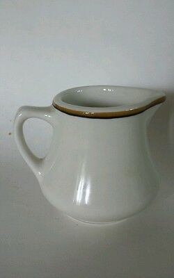 Vintage Homer Laughlin Individual Creamer Pitcher Restaurant Ware