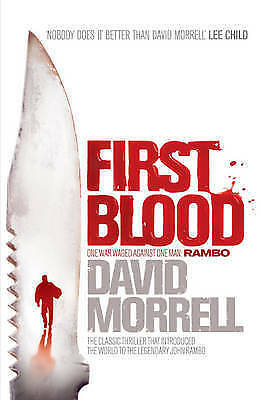 First Blood: Rambo by David Morrell | Paperback Book | 9780755346677 | NEW
