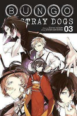 Bungo Stray Dogs, Vol. 3 by Asagiri, Kafka | Paperback Book | 9780316468152 | NE