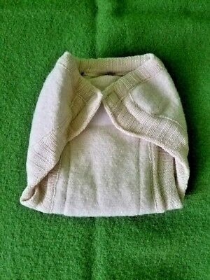 Disana 100% Boiled Merino Wool Diaper Cover 3-6 mo. Made in Germany.lot16