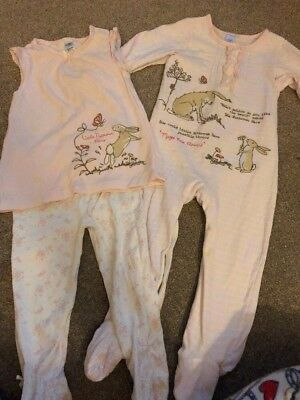 Girls Sleepsuit And Pjs 18-24months Guess How Much I Love You