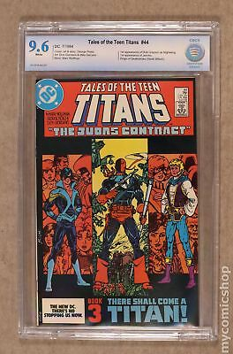 New Teen Titans (Tales of ...) #44 1984 CBCS 9.6