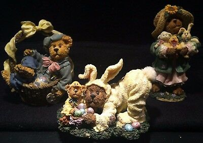 Boyd's Bearstone Lot - Easter - P.b. Easterbeary, Miss Hattie, Rembrandt