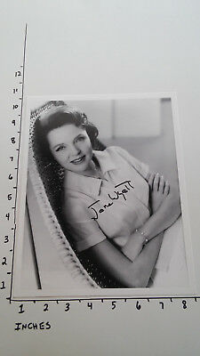 Hand Signed Autograph Jane Wyatt Father Knows Best Actress