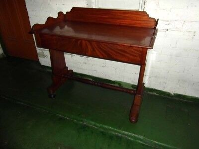 Early Victorian  Mahogany Writing Table
