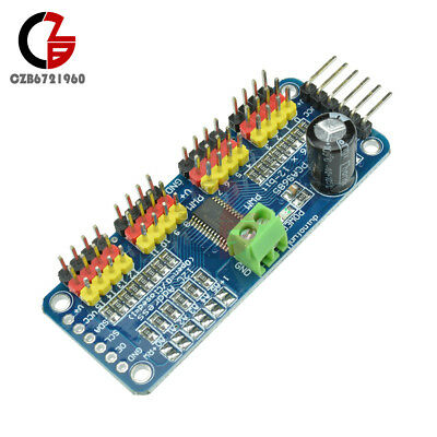 16 CH 12-bit PWM Servo Shield Driver-I2C interface-PCA9685 For Arduino Robot