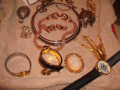 56 Piece Lot Of Vintage To Modern Costume Jewelry, Earrings, Necklaces, & More!