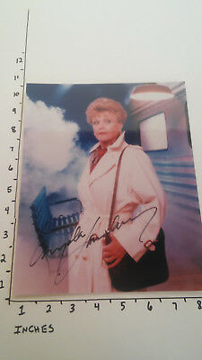 Hand Signed Autograph Angela Lansbury from Murder She Wrote