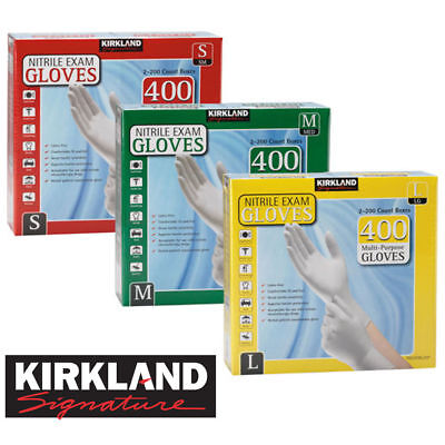 Kirkland Signature Nitrile Exam Medical Food Multipurpose Gloves Latex Kitchen