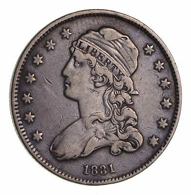 1831 Capped Bust Quarter - Circulated *1642