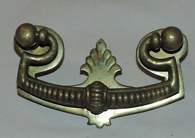 Set of 4 Vintage/Antique Brass Furniture Hardware Dresser Drawer Handle Pulls