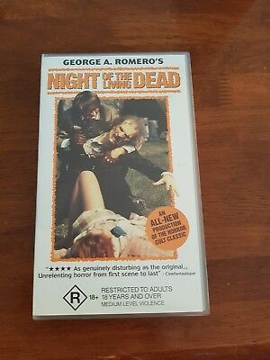 Night of the Living Dead Horror VHS