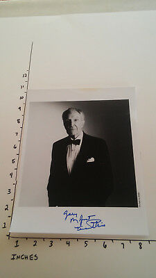 Hand Signed Autograph Vincent Price (how cool was this guy right!!??)