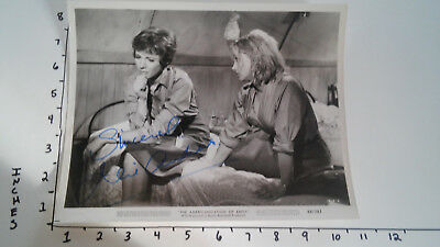 Hand Signed Autograph Julie Andrews MGM promo Americanization of Emily