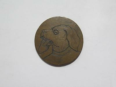 Italy Sardinia 1826 5 Centesimi Engraved Dog Type Old World Coin Collection Lot