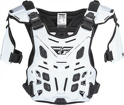 Fly Racing 36-16044 Revel Roost Guard Offroad White