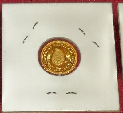 1988 Australia Proof $15 Nugget, 1/10 Ounce 99.99 Pure Gold, First Year Gem !