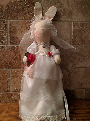 Cathy's Collection Bride Character Stuffed Animal Bunny