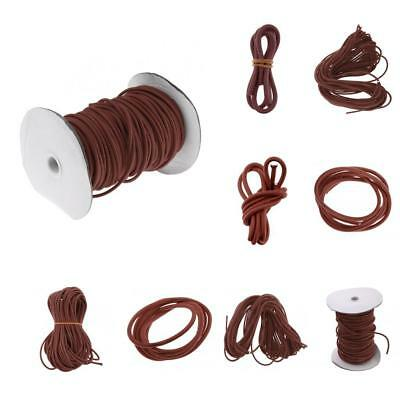 3mm 0.5 - 100m Coffee Strong Bungee Rope Shock Cord Boats Trailers Tie Down
