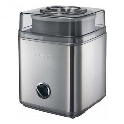 Cuisinart Deluxe Ice Cream Maker Sorbets & Drinks Mixing Paddle Stainless Steel