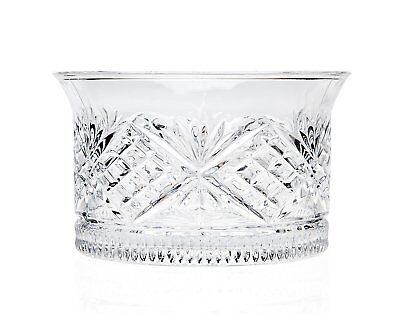Crystal Wine Coaster 4.5in Bottle Holder Bar Clear Glass Ware Table Accessory