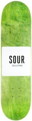 Sour Army Skateboard Deck in Green