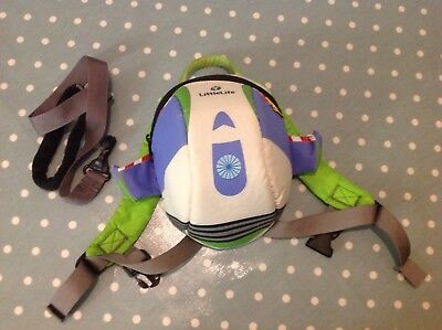Little Life Buzz Light Year Backpack with detachable rein