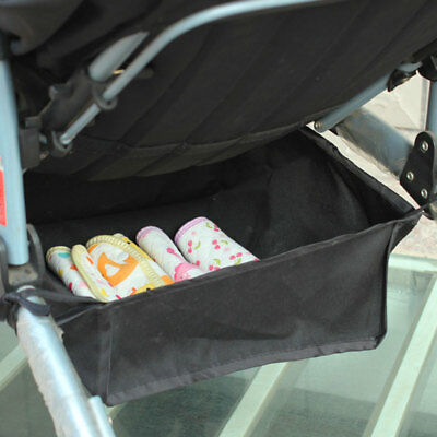 Baby Stroller Hanging Organizer Under Net Buggy Cart Holder Diaper Bags Basket