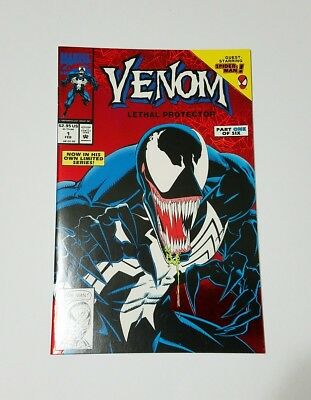 Venom Lethal Protector #1 (Marvel, 1993)-- Very High Grade!!