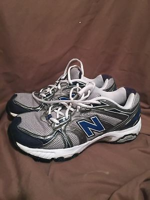 (Used/worn) New Balance 506 Mens Size 8 D Running Shoes Grey Blue