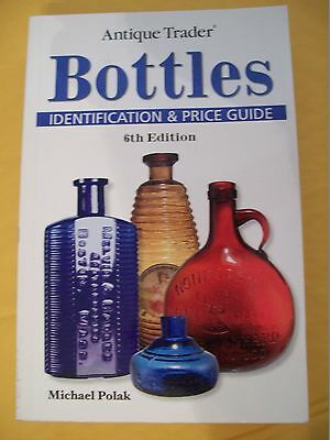 5000+ ANTIQUE BOTTLES PRICE GUIDE COLLECTOR'S BOOK Color Picture's 551 pages