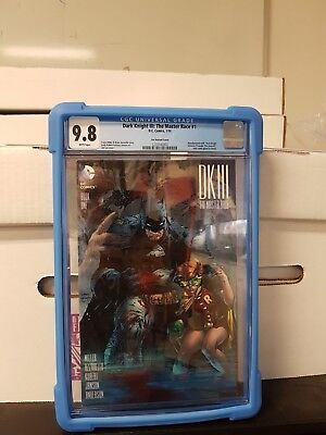 DARK KNIGHT III THE MASTER RACE #1, 2016  Limited 1 for 500 Graded CGC 9.8