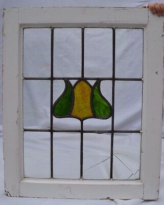 English leaded light stained glass window. B526b. MULTIPLE DELIVERY OPTIONS!!!