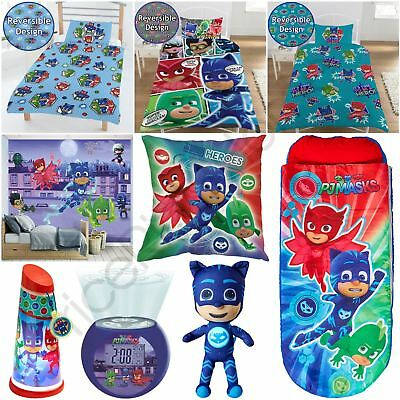 Pj Masks Bedroom - Duvet Cover Sets, Cushion, Lighting, Wallpaper & More