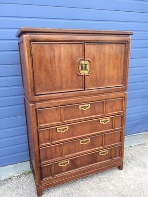 Hollywood Regency Mid Century Tall Chest of Drawers by Thomasville 6468