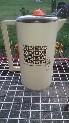 Very Rare Winky's Vintage 1970s Fast Food Restaurant Drink Pitcher