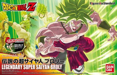 Bandai Figure-Rise Dragon Ball Z Legendary Super Saiyan Broly Model Kit DBZ USA