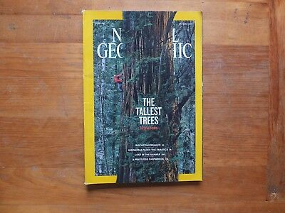 National Geographic Magazine. OCT 2009-REDWOODS.October 1981