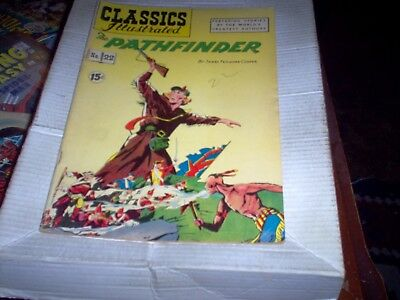 Classics Illustrated # 22 Hrn # 85 The Pathfinder Look Fn-