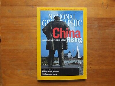 National Geographic Magazine.CHINA RISING - SEPT 2006