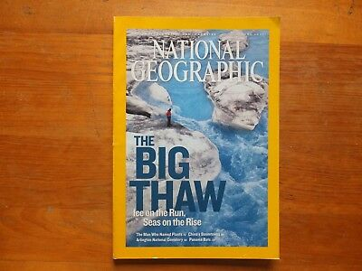 National Geographic Magazine.JUNE 2007 - ARTIC WILDLIFE/GRISING SEAS - SEPT 2013