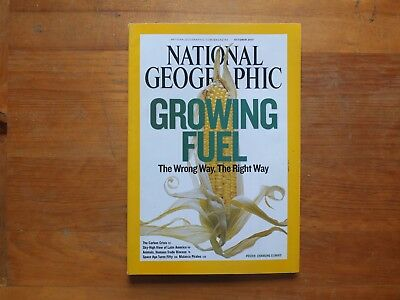 National Geographic Magazine.OCT 2007--GROWING FUEL