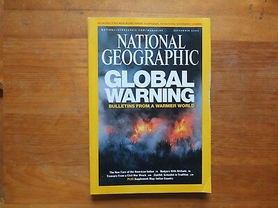 National Geographic Magazine.GLOBAL WARNING - SEPT 2004