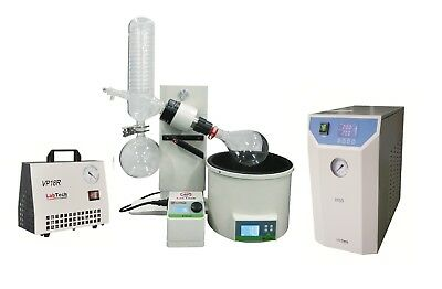 Rotary Evaporator + Chiller + Vacuum Pump Bundle, by LabTech