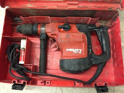 Hilti TE76-ATC Rotary Hammer Drill With Case w/Bits #2825-1