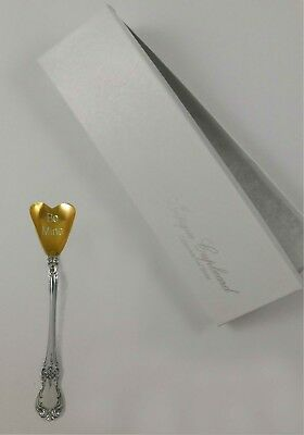 Old Master by Towle Sterling Silver Conversation Heart Spoon Valentines Day Gift