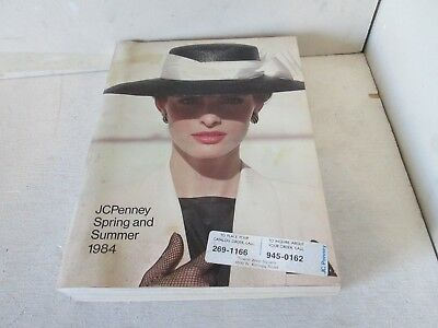 Vintage JcPenney Spring Summer 1984 Fashion 1980's Atari Electronics Housewares