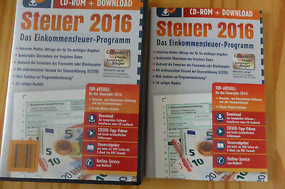 aldi steuer 2016 cd rom download mit begleitheft elster steuererkl rung neu ovp eur 14 00. Black Bedroom Furniture Sets. Home Design Ideas
